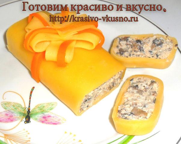 Закуска  из сыра