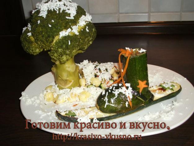 Рецепт кабачка простой и интересный.