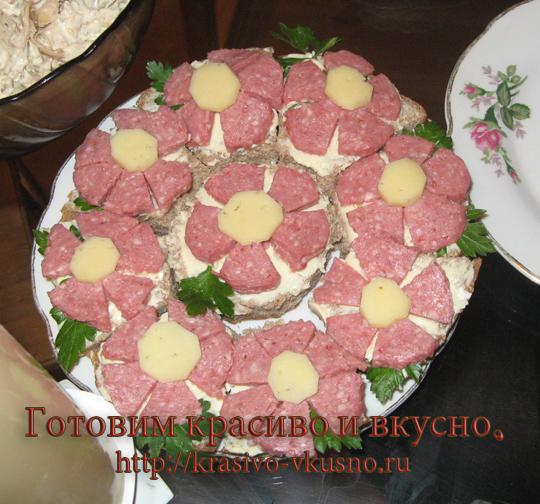сложные бутерброды рецепты с фото