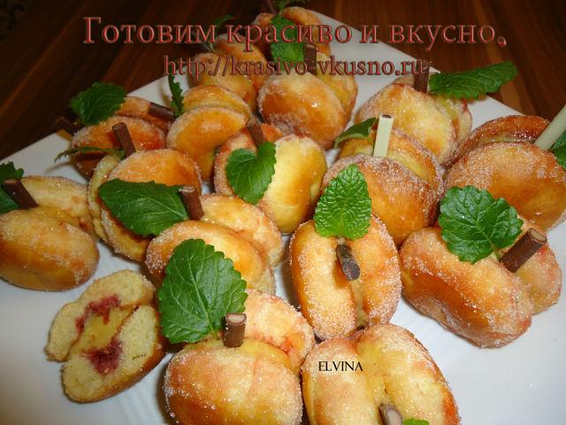 персики рецепт