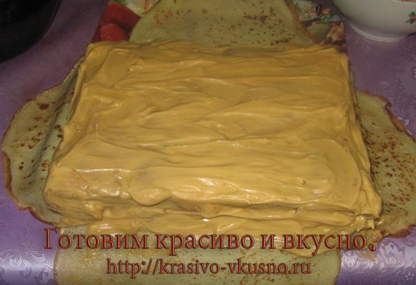 Блинный тортик.