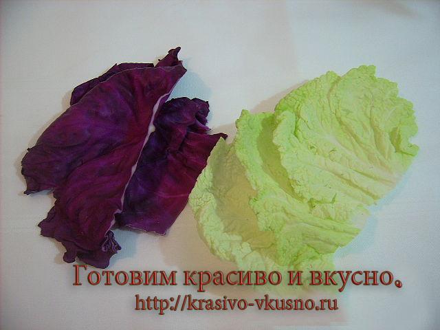 Розы пекинской капусты.