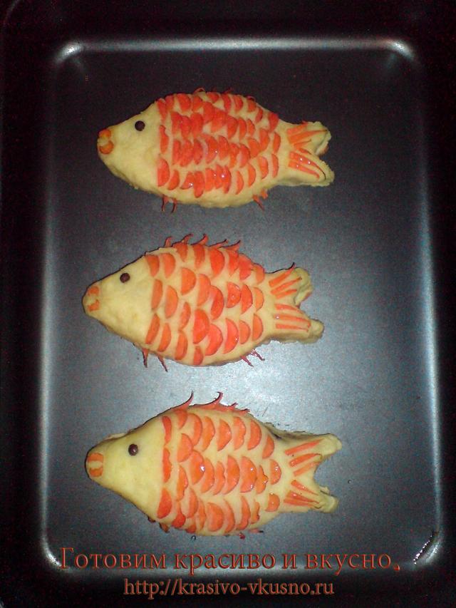 Картофельные зразы с рыбой.