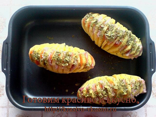 Картошка в духовке.