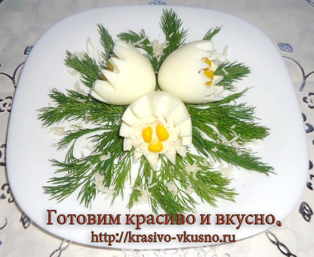 """Закуска """"Подснежники"""""""