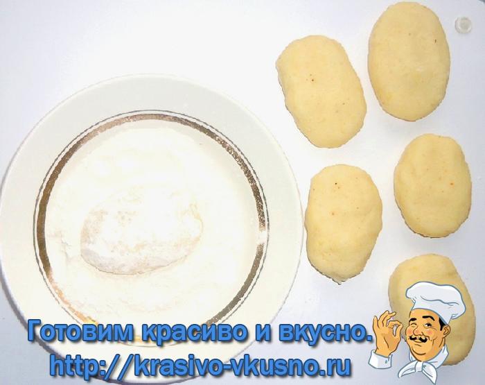Картофельно - рисовые котлеты.