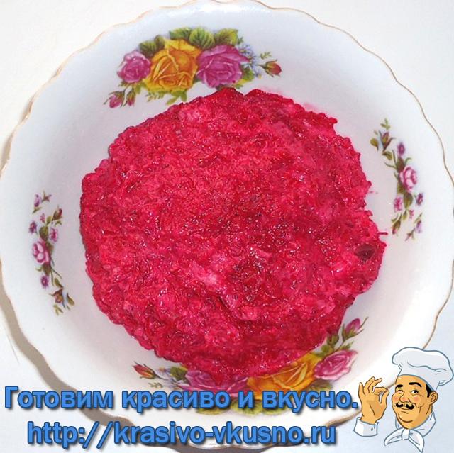 Блинная закуска  «Розы»