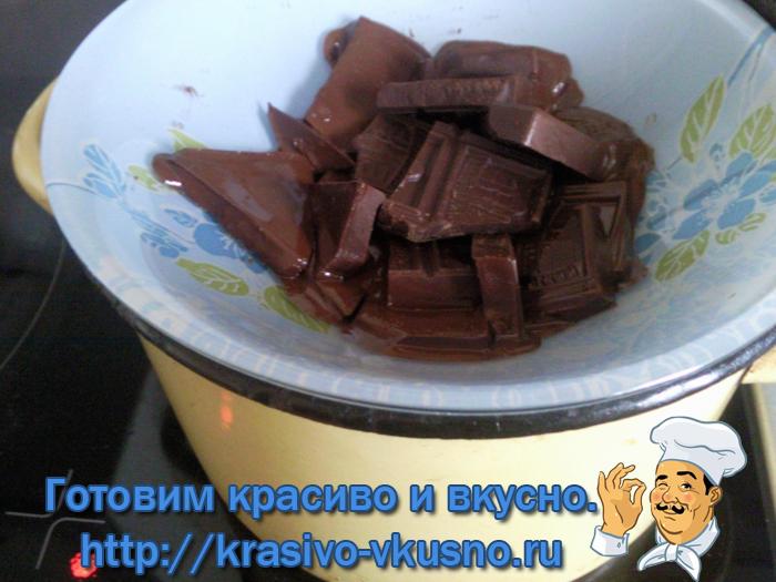 Шоколадный мусс.
