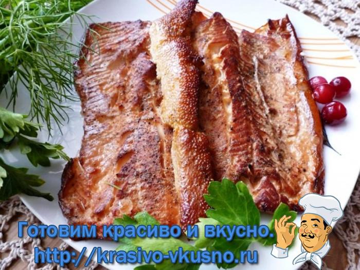 Рыба горячего копчения по-домашнему.