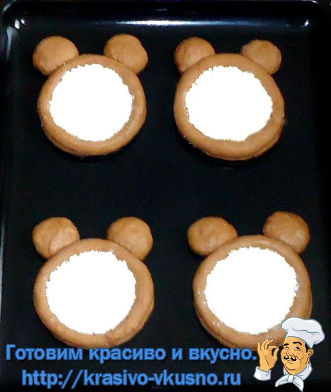 Ватрушки «Микки Маус»