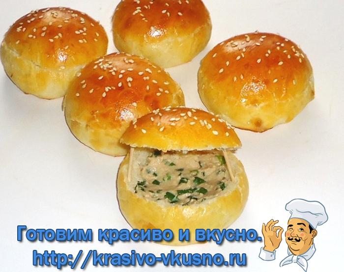 Бутерброды «Ракушки»