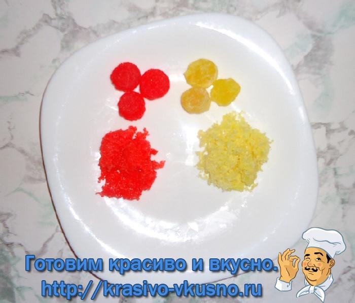 Рисовое печенье на 23 февраля.