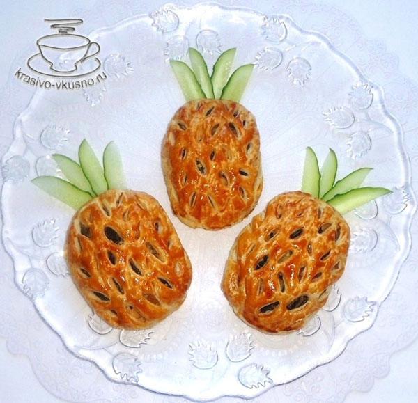 Пирожки «Ананасы»