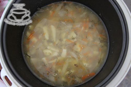 Суп в мультиварке