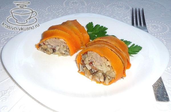 Вкусное блюда из мяса