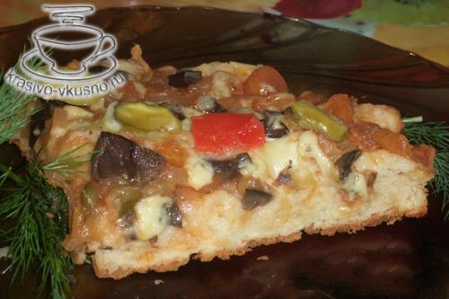 Пицца в мультиварки