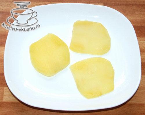 Закуска из картофеля