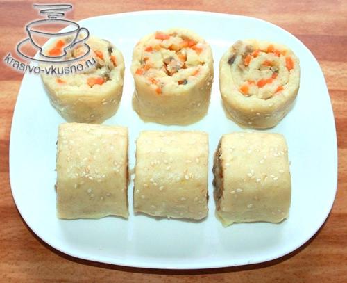 Картофельные роллы