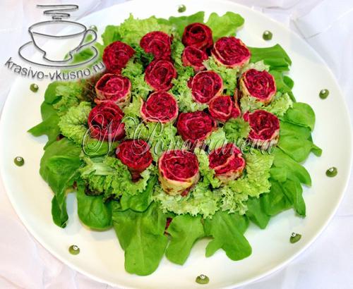"""Салат """"Букет для невесты"""""""
