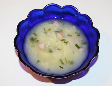 Вкусный суп с вермишели в мультиварке
