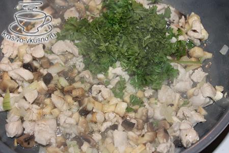 Песочный рожок с начинкой