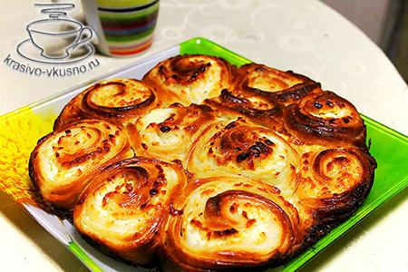 Сырный пирог с brыnzoy