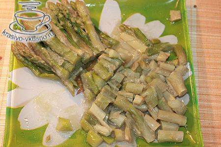 Суфле из лосося и крабовых палочек